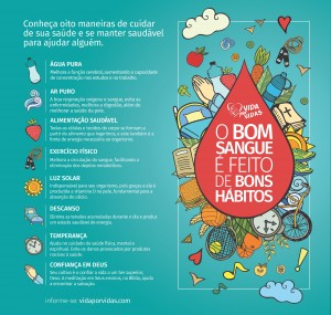 Hábitos de saúde para ser um doador de sangue