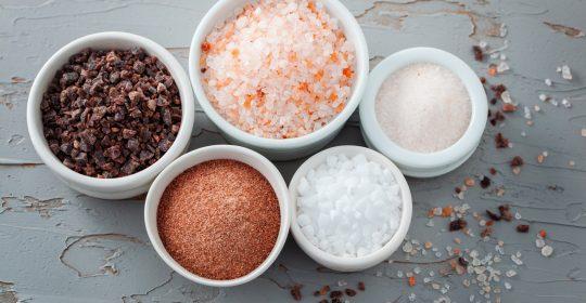 7 tipos de sal: qual o melhor?
